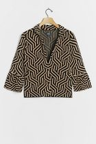 Anthropologie ★ Maeve ★ Kalinda Geometric Jacket