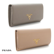 【最短翌日着】PRADA VITELLO  GRAIN 多機能 長財布 1MH132