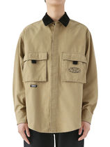 [thisisneverthat] Oxford Cargo Shirt Beige