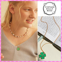【VINTAGE HOLLYWOOD】I`m Lucky Clover Necklace〜ネックレス
