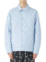 [thisisneverthat] Quilted Coach Jacket Sky Blue
