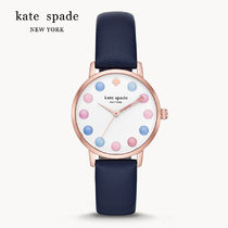 国内発送 Kate Spade Metro Leather Watch KSW9027 送料無料