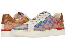 COACH 新作 Lowline Low Top Sneaker In Rainbow