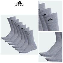 【Adidas】☆テニスソックス☆ ATHLETIC CREW SOCKS 6 PAIRS