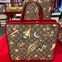 GUCCI キッズ 大人もok Children's GG space print tote bag