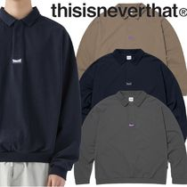 ★thisisneverthat★3 Button L/SL Polo 3色