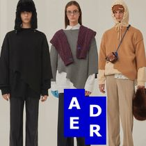 ★Adererror★Warning knit 3色