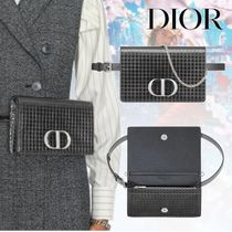 20AW【Dior】30 MONTAIGNE ポーチ マイクロカナージュ