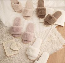 【DECO VIEW】Cozy soft fur slippers