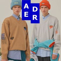 ★Adererror★Sewing knit 2色