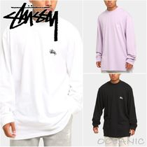 【Stussy】Mock Neck Long Sleeve T-Shirt 長袖 メンズ
