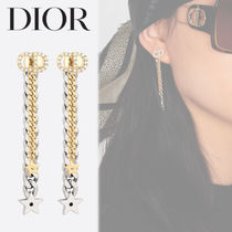 Dior CLAIR D LUNE クレールドルナ スター チェーン ピアス