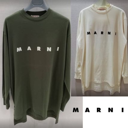 マルニ直営店◆LONG-SLEEVED T-SHIRT COTTON JERSEY MARNI PRINT