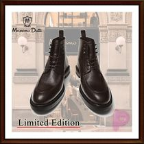 【MD】Limited Edition!レザーレースアップブーツ/Marron
