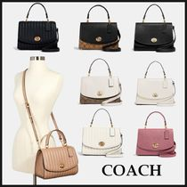 【SALE】COACH Tilly Top Handle Satchel ハンドル サッチェル