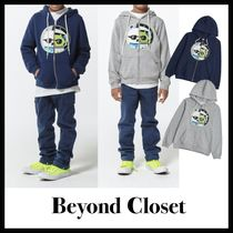 beyond closet(ビヨンドクローゼット) キッズ用トップス beyondcloset(KIDS EDITION)BIS COLLECTION PATCH ZIP-UP HOOD
