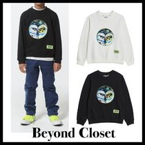 beyond closet(ビヨンドクローゼット) キッズ用トップス beyond closet★(KIDS) BBIS COLLECTION PATCH SWEAT-SHIRTS