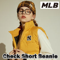 MLB◆Check Short Beanie◆ユニセックス