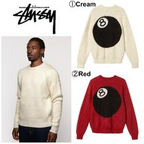 【STUSSY】☆最新作☆8 BALL HEAVY BRUSHED MOHAIR SWEATER