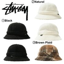 【STUSSY】☆日本未入荷☆新作☆SHERPA FLEECE BELL BUCKET HAT