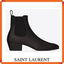 SAINT LAURENT COLE CHELSEA BOOTS IN SMOOTH LEATHER