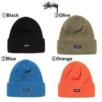 【STUSSY】☆新作☆ビーニー帽☆SMALL PATCH WATCHCAP BEANIE
