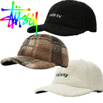 【STUSSY】日本未入荷 ◆SHERPA FLEECE LOW PRO CAP