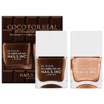 Nails Inc(ネイルズインク) マニキュア 限定!NAILS INC. Coco For Real Nail Polish Duo