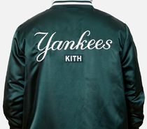 KITH MLB Collection NY Yankees Leather Jacket