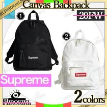 20FW/Supreme Canvas Backpack キャンバス バックパック DayPack