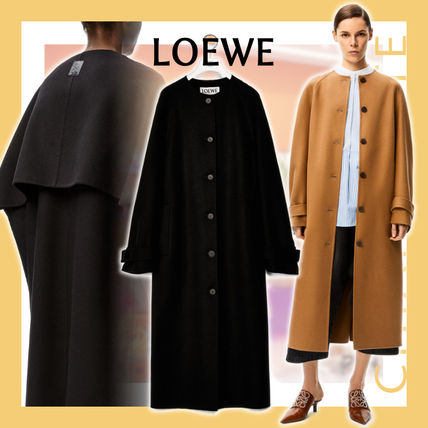 【20AW NEW】LOEWE_women / coat in wool and cashmere コート