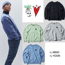 ★PLAC X MINO YOON★Be Nice Logo Artwork Sweatshirts 4色