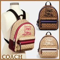 【Coach】Vale Medium Charlie バックパック★ Rexy By Guang Yu