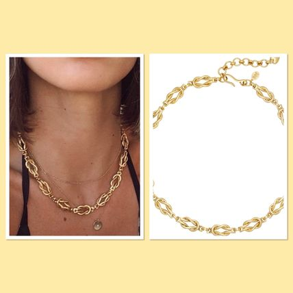 BRINKER& ELIZA Love Knot Necklace ラブノットネックレス国内発