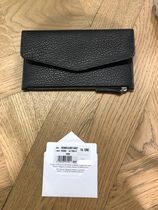 Maison Margiela★leather wallet with flap and zip