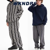 日本未入荷★WKNDRS★SMILE PATTERN PANTS 2色