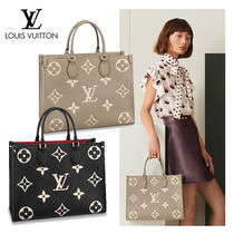 LOUIS VUITTON☆ONTHEGO MM レザー ミディアムサイズ 2WAY