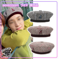 【Kangol】Show Your Teeth Beret 4304★Seventeen Wonwoo着用★