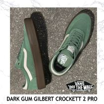 NEW!【VANS】DARK GUM GILBERT CROCKETT 2 PRO-HEDGE GREEN
