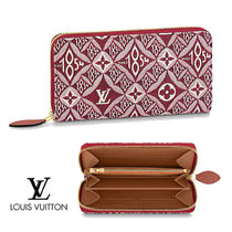 LOUIS VUITTON☆SINCE 1854 ZIPPY WALLET ジャガード生地
