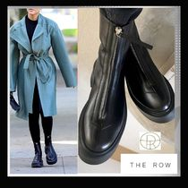 【The Row】Zipped Boot 1 in Leather ★大人気♪ 再入荷