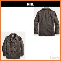 【RRL】Washed Canvas Peacoat◆ピーコート