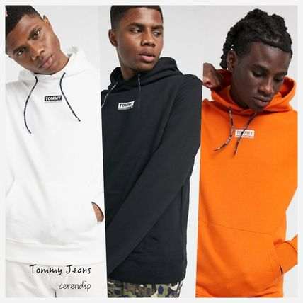 Tommy Hilfiger パーカー・フーディ Tommy Jeans*チェストボックスロゴパーカー*送料込