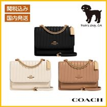 【COACH】Klare Crossbody With Linear Quilting◆国内発送◆