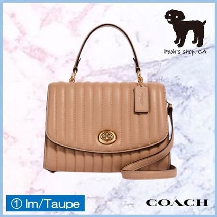 Coach ショルダーバッグ・ポシェット 【COACH】Tilly Top Handle With Linear Quilting◆国内発送◆(2)