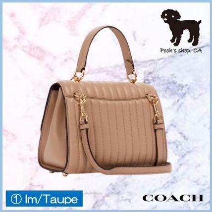 Coach ショルダーバッグ・ポシェット 【COACH】Tilly Top Handle With Linear Quilting◆国内発送◆(3)