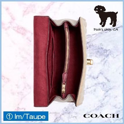 Coach ショルダーバッグ・ポシェット 【COACH】Tilly Top Handle With Linear Quilting◆国内発送◆(4)