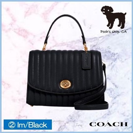 Coach ショルダーバッグ・ポシェット 【COACH】Tilly Top Handle With Linear Quilting◆国内発送◆(6)