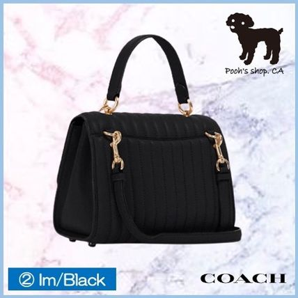 Coach ショルダーバッグ・ポシェット 【COACH】Tilly Top Handle With Linear Quilting◆国内発送◆(7)