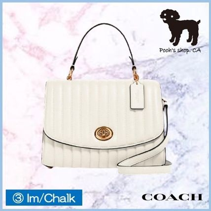 Coach ショルダーバッグ・ポシェット 【COACH】Tilly Top Handle With Linear Quilting◆国内発送◆(10)